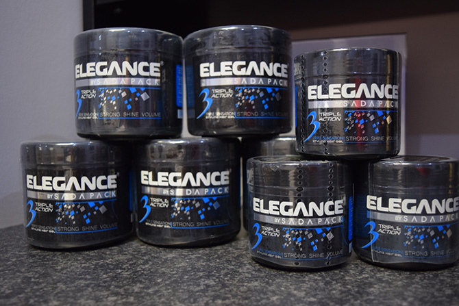 Elegance Hair Products at The Filton Barbers, North Bristol