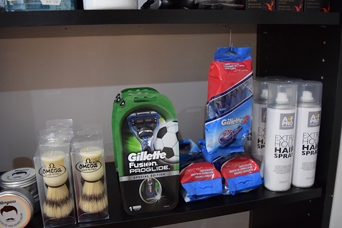 Shaving and Hair Products at Barbers, North Bristol
