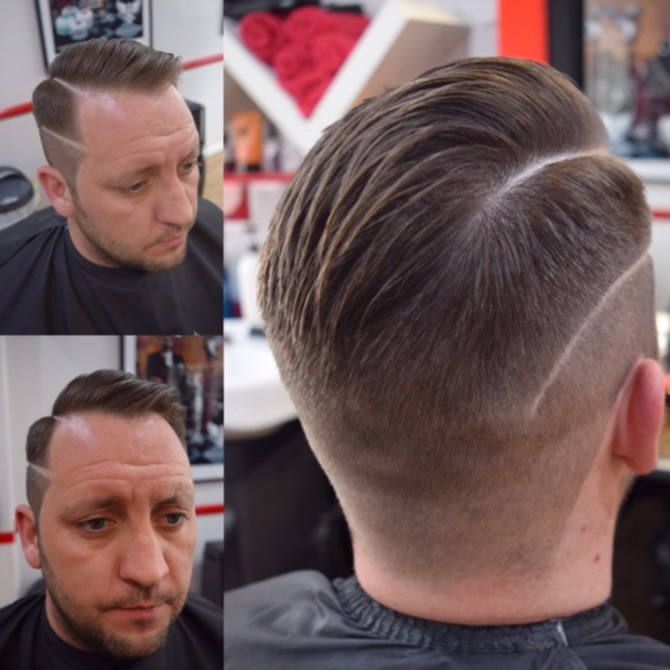 Short back and sides hairstyles North Bristol barbers