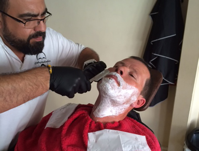 Hot Towel Shaves at The Filton Barbers, North Bristol