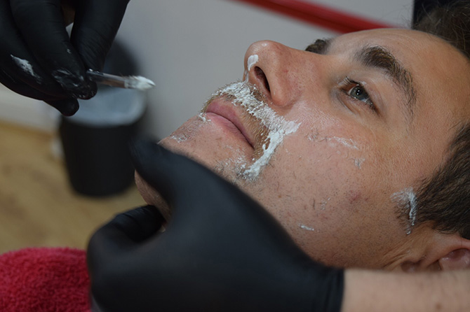 Hot Towel Shaves Barbers  North Bristol