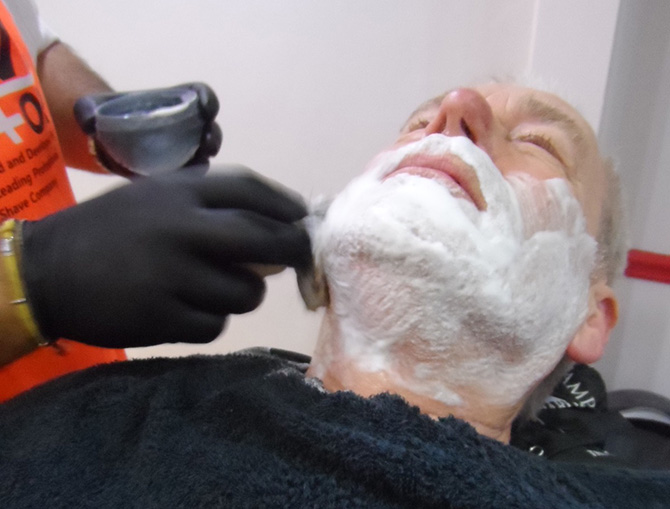 Hot Towel Shaving Barbers North Bristol