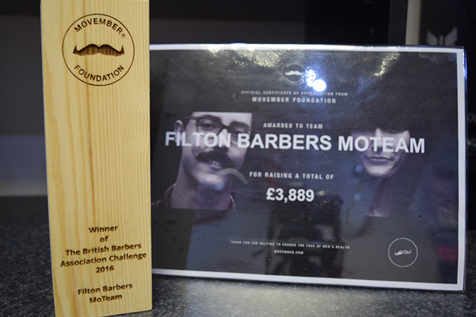 Movember : Mens Barbers North Bristol