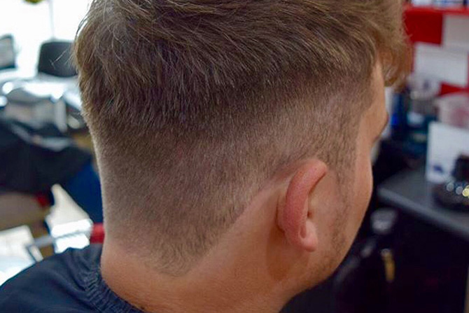 Necklines : Mens Barbers North Bristol